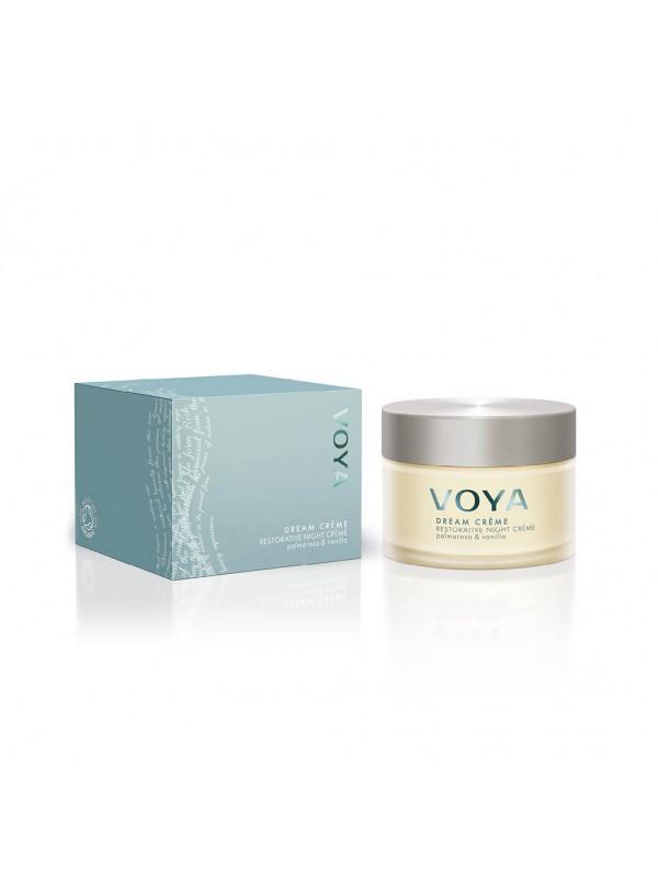 Voya  Dream Crème- fornyende nattkrem for tørr hud